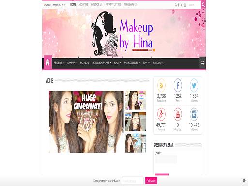 makeupbyhina.com