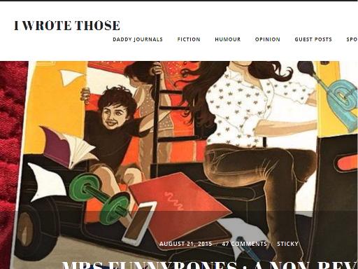 www.iwrotethose.com