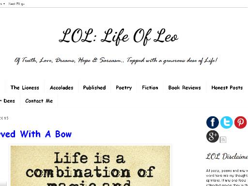 www.lifeofleo.in