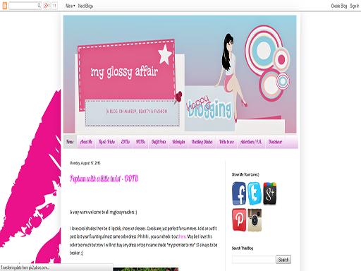 www.myglossyaffair.com